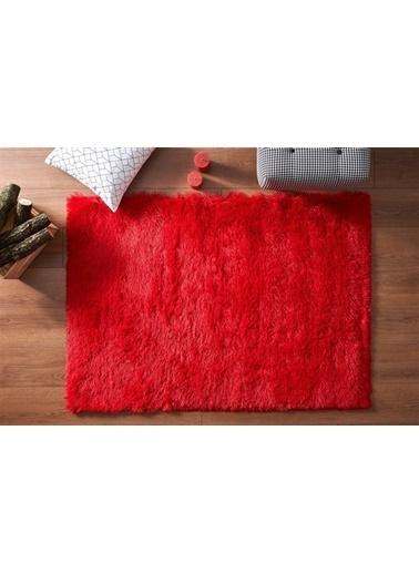 MarkaEv Dekoratif Kırmızı Halı Kırmızı